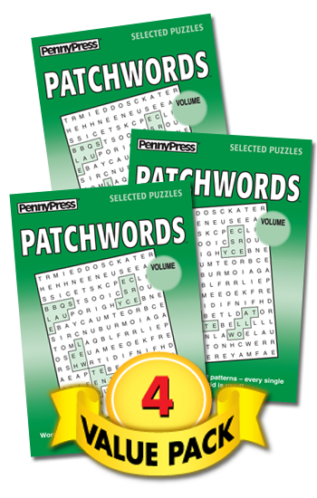 Patchwords Value Pack-4
